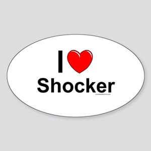 Shocker Sticker (Oval)