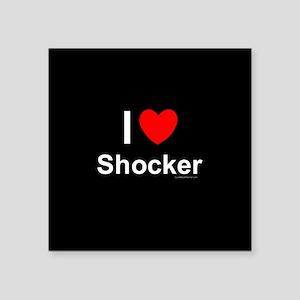 "Shocker Square Sticker 3"" x 3"""