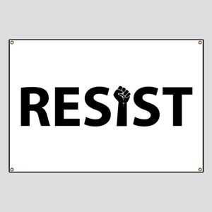 Resist With Fist Banner