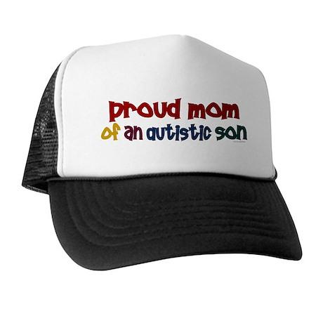 Proud Mom Of Autistic Son 2 Trucker Hat