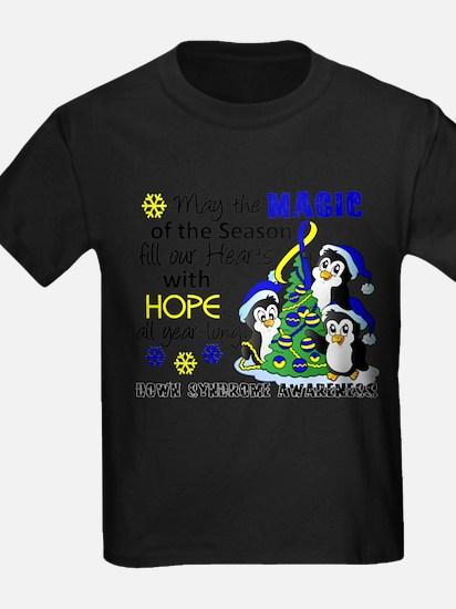 DS Christmas Penguins T-Shirt