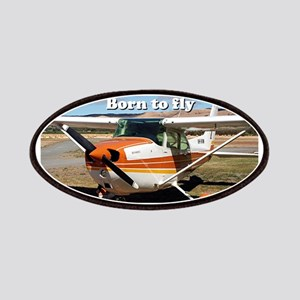 Born to fly: high wing aircraft Patch