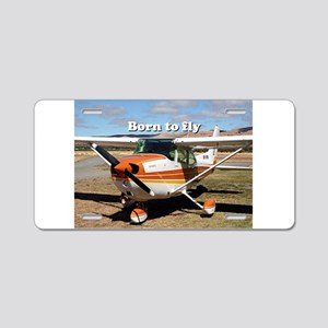 Born to fly: high wing airc Aluminum License Plate