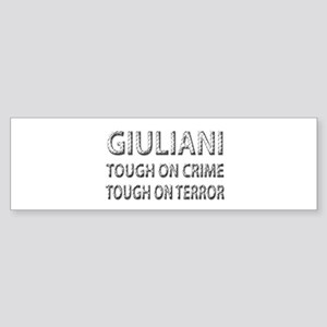 Giuliani tough on terror Bumper Sticker