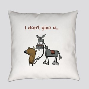 I don't give a... Everyday Pillow