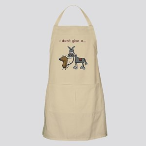 I don't give a... Apron