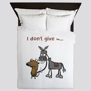 I don't give a... Queen Duvet