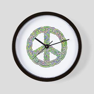 Celtic Peace! Wall Clock