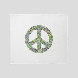 Celtic Peace! Throw Blanket