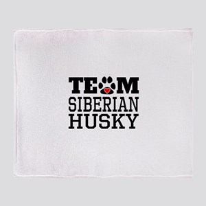 Team Sibe Throw Blanket