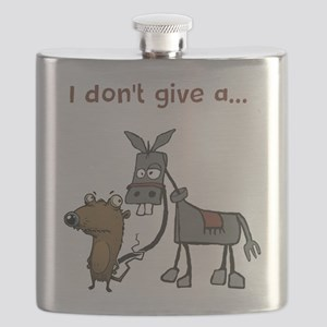 I don't give a... Flask