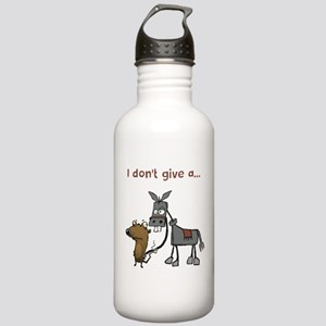 I don't give a... Water Bottle