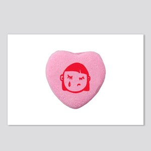 Emo Candy Heart Postcards (Package of 8)