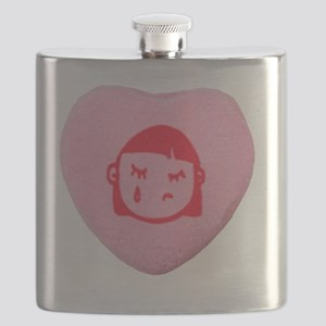 Emo Candy Heart Flask