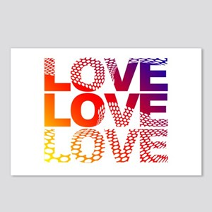 Love-45 Postcards (Package of 8)