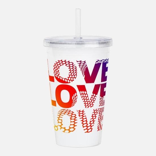 Love-45 Acrylic Double-wall Tumbler
