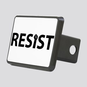 Resist With Fist Rectangular Hitch Cover