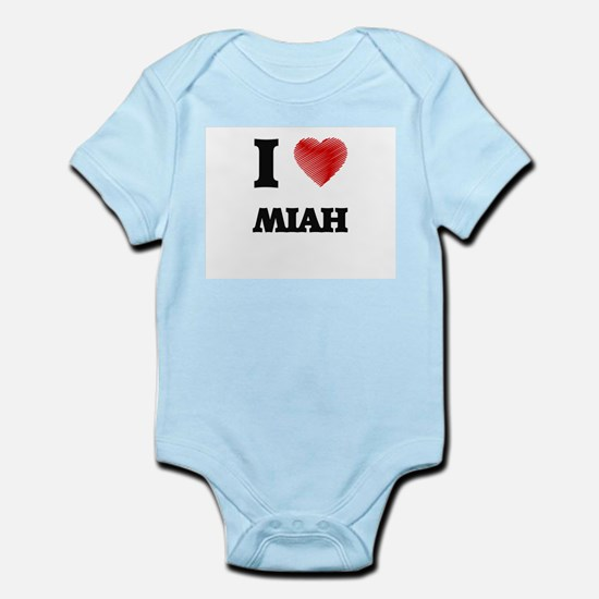 I Love Miah Body Suit