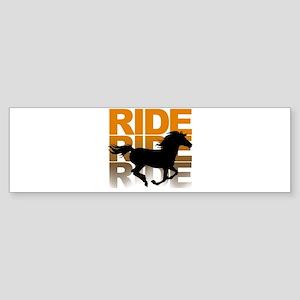Horse ride Bumper Sticker