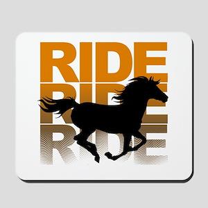 Horse ride Mousepad