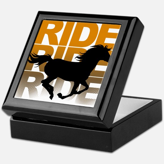 Horse ride Keepsake Box