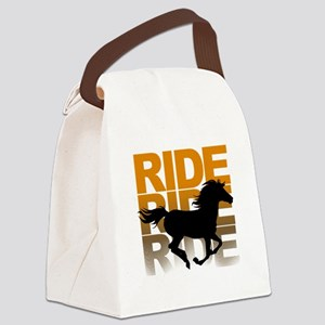 Horse ride Canvas Lunch Bag