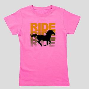 Horse ride Girl's Tee