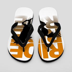 a27130191151de Save Horse Ride Cowboy Flip Flops - CafePress