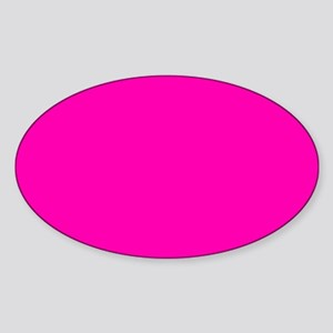 Neon Pink Solid Color Sticker