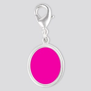 Neon Pink Solid Color Charms