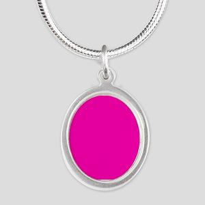 Neon Pink Solid Color Necklaces