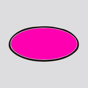 Neon Pink Solid Color Patch