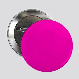 """Neon Pink Solid Color 2.25"""" Button"""