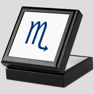 vriska, blue scorpio sign Keepsake Box