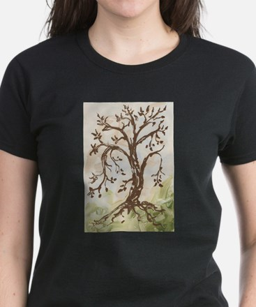 Tree of Contemplation T-Shirt