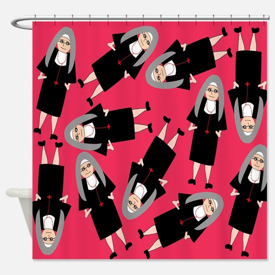 Nuns in Habits Shower Curtain