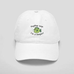 PopPop Says I'm a Keeper Cap