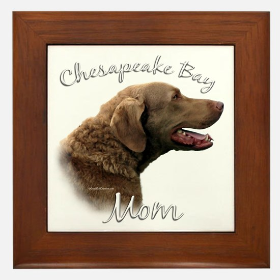 Chessie Mom2 Framed Tile