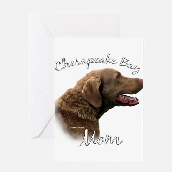Chessie Mom2 Greeting Card