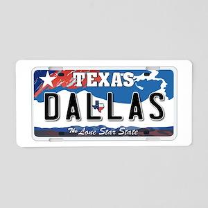 Texas - Dallas Aluminum License Plate