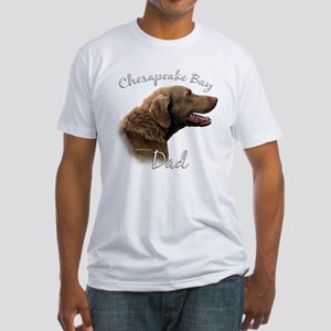 Chessie Dad2 Fitted T-Shirt