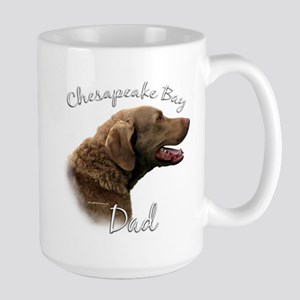 Chessie Dad2 Large Mug