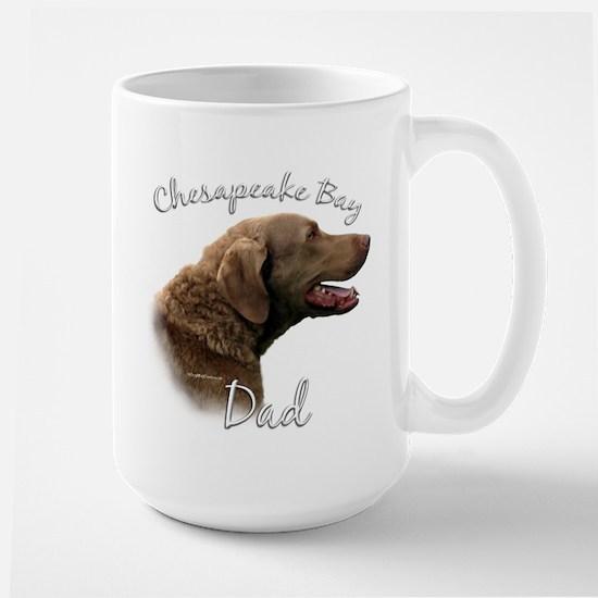Chessie Dad2 Large Mug