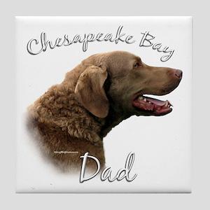 Chessie Dad2 Tile Coaster