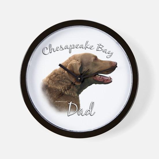 Chessie Dad2 Wall Clock