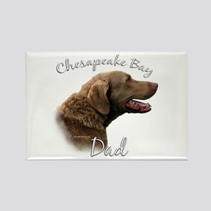 Chessie Dad2 Rectangle Magnet