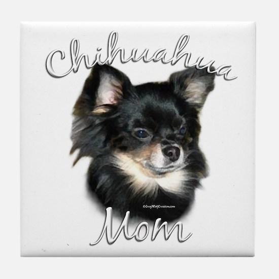 Chihuahua Mom2 Tile Coaster