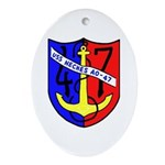 USS Neches (AO 47) Oval Ornament