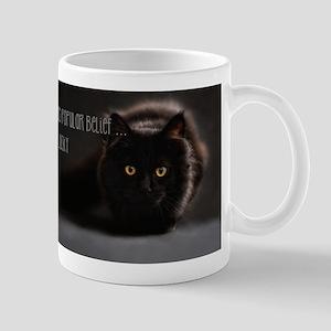 Black Cat Photo Mug Mugs