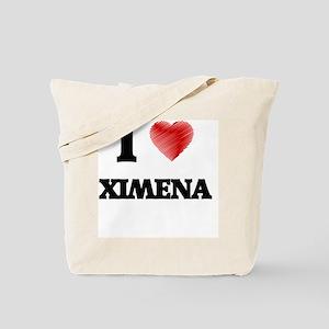 I Love Ximena Tote Bag